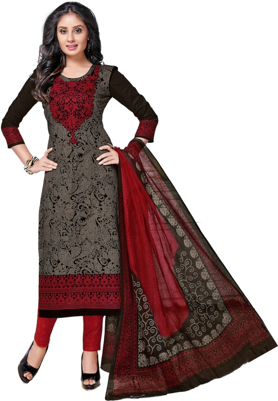 SuitsOn Cotton Printed Salwar Suit Dupatta Material(Un-stitched)