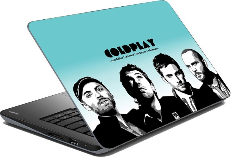 Vprint ColdPlay musicial Band Vinyl Laptop Decal 15