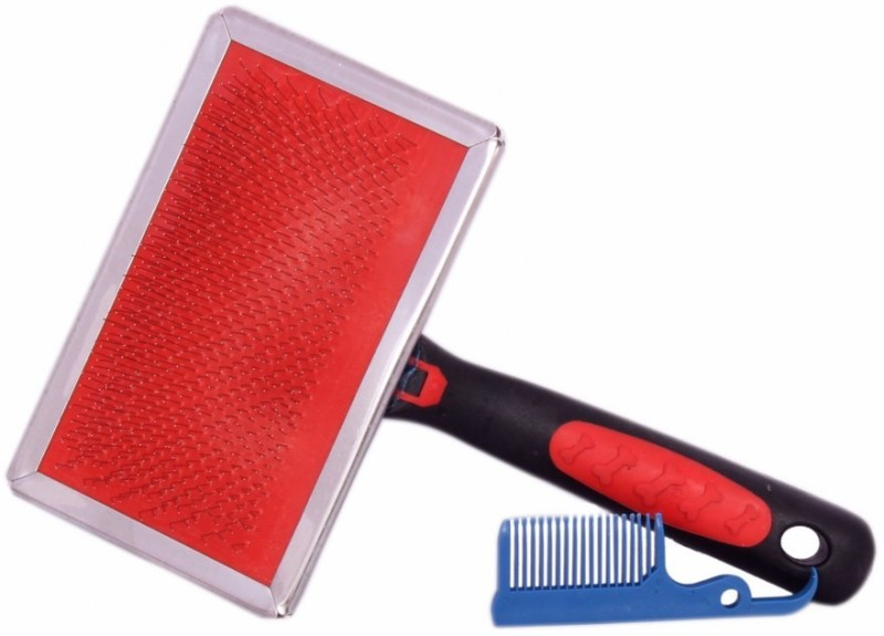 SRI High Quality Pet Cleaning Slicker Brush for Dogs and Cats, Suitable For Long or Short Hair Slicker Brushes for Dog