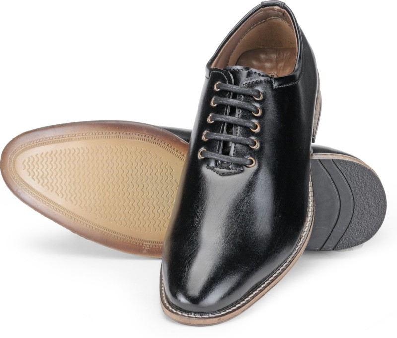 Adreno Cambridge Lace Up For Men(Black)