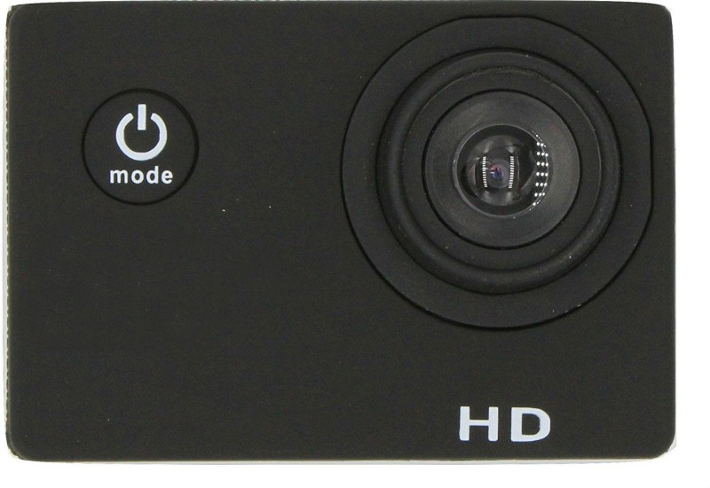 Shrih 2 inch LCD 12 Megapixels Sports and Action Camera(Black 12 MP) image