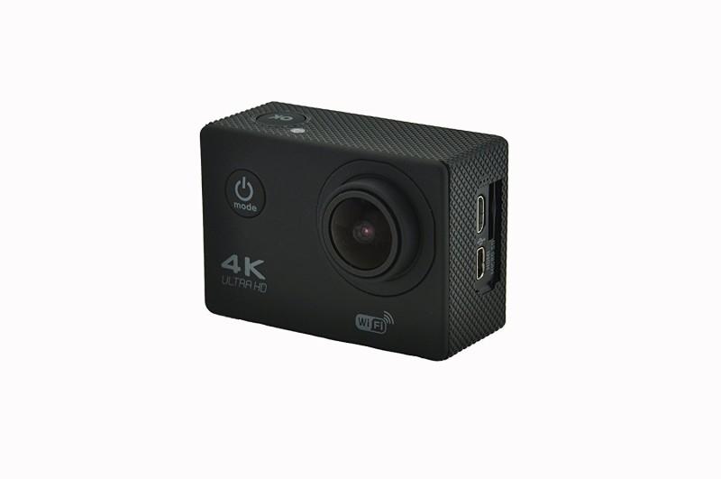 Shrih 16 Megapixels 4K Ultra HD Video Recording Sports and Action Camera(Black 16 MP) image