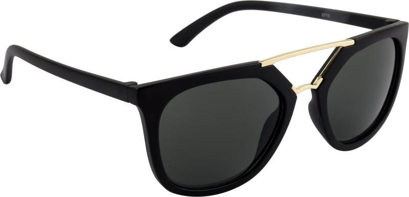 NuVew Wayfarer Sunglasses(Grey) image