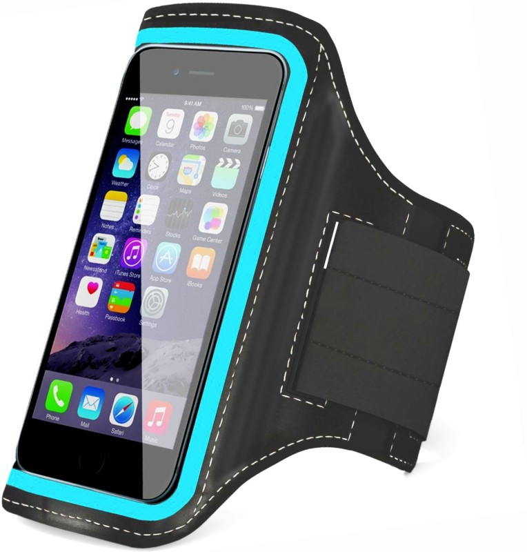 Tantra Arm Band Case for Mobi Blue for Screen size upto 4.7 inches, like iphone 6, 6S, 7 & Redmi 2(Black)