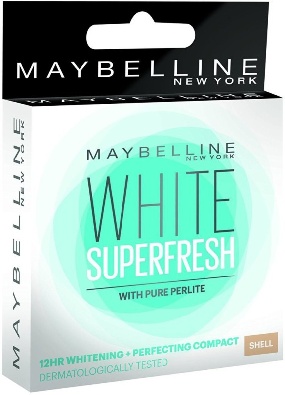Maybelline Maybelline White Super Fresh Compact - 8 g (Shell) Compact(Shell)