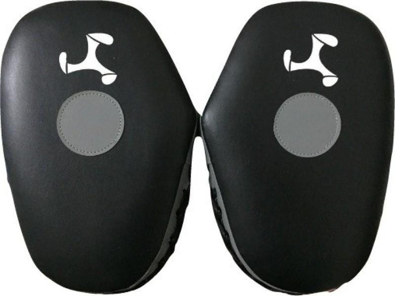 Le Buckle Straight Hook and Jab Focus Pad(Black, Grey)