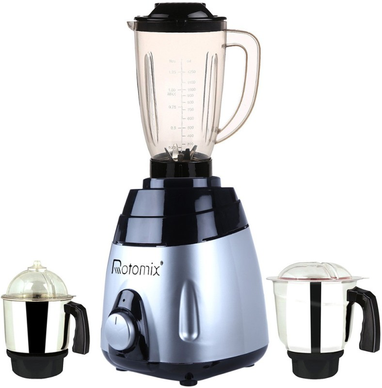 Rotomix MA ABS Body MGJ WOF 2017-12 600 W Juicer Mixer Grinder(Multicolor, 3 Jars)