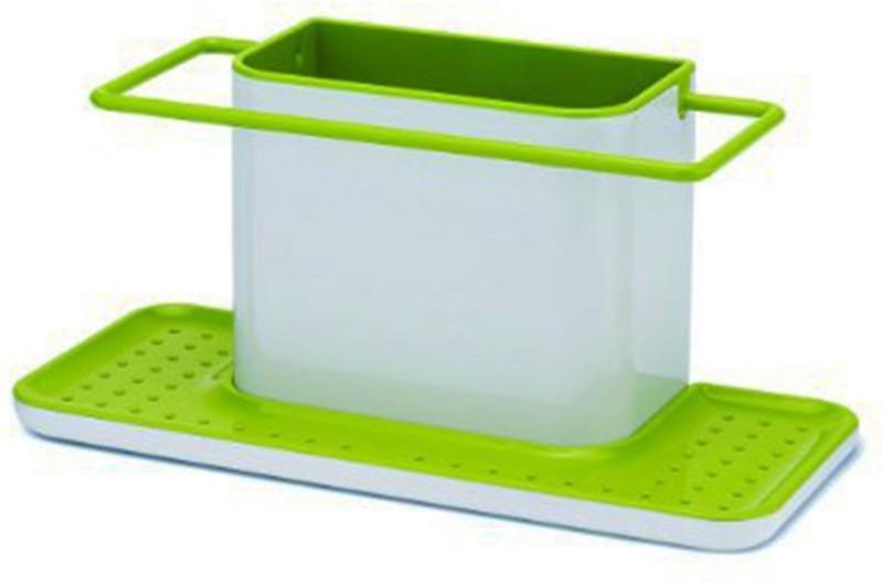 Komfort Kitchen Sink Organiser Rack Sink Sponge Holder(Plastic)