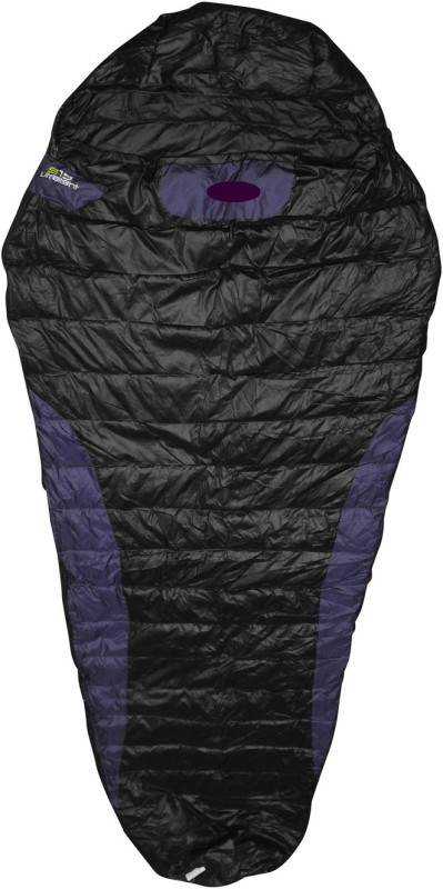 Bs Spy Duck Feather Warm Dual Tone Sleeping Bag(Black)