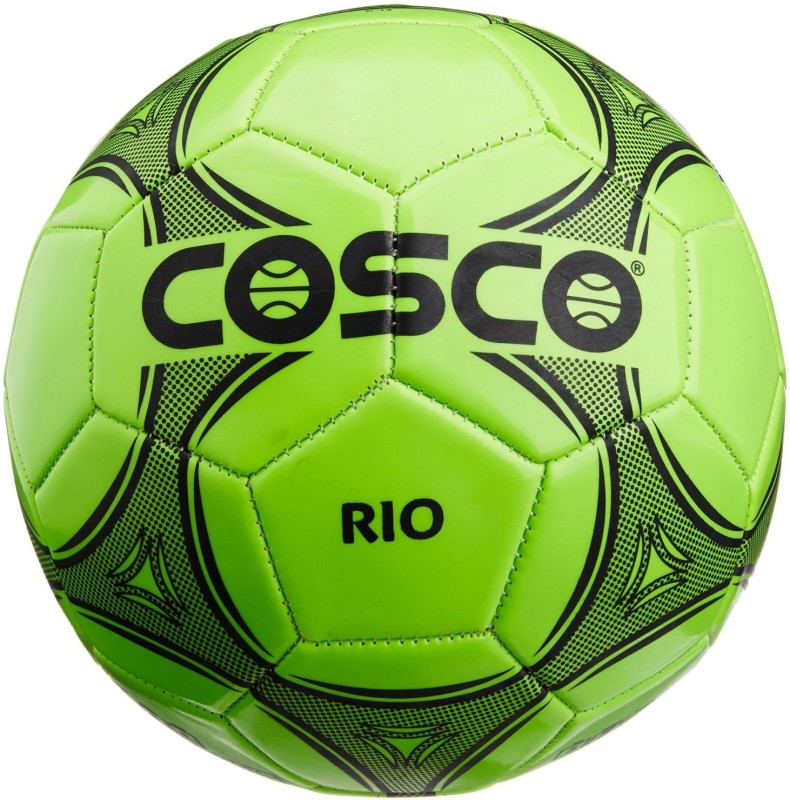 Cosco Rio Football - Size: 3(Pack of 1, Green)