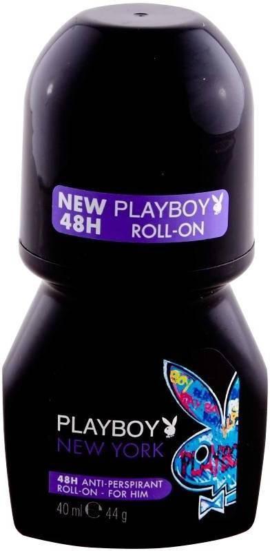 Playboy Newyork Deodorant Roll-on - For Men(40 ml)
