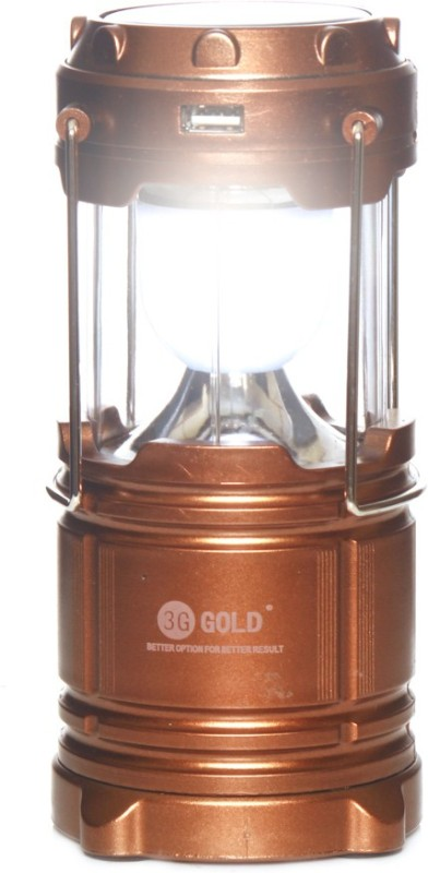 MM 3G GOLD (Model No. T-81) Rechargeable Emergency Emergency Lights(Brown)