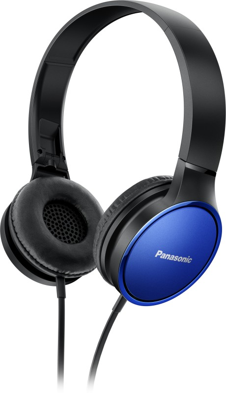 Panasonic RP-HXS200MEA Headphone(Blue, Over the Ear)
