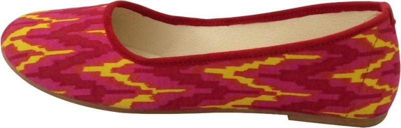 Hepburnette Women's Bellies For Women(40, Red) image