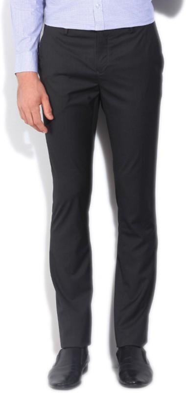 V Dot by Van Heusen Slim Fit Mens Grey Trousers