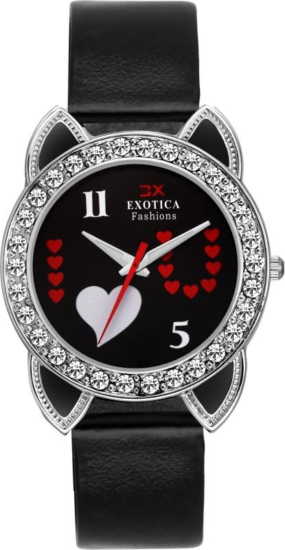 Exotica Fashion EFLM-04-Blak Girl's Watch image
