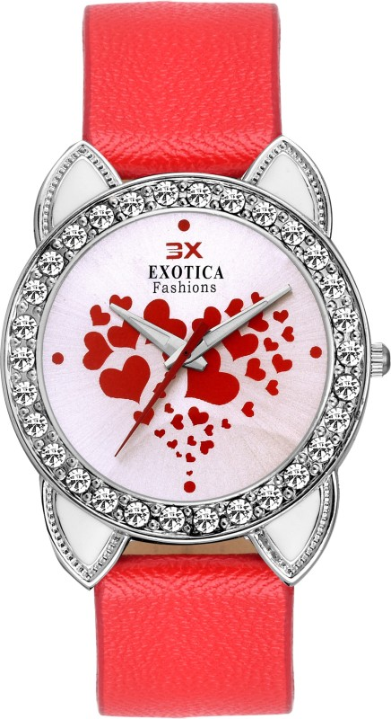 Exotica Fashion EFLM-03-Red Girl's Watch image