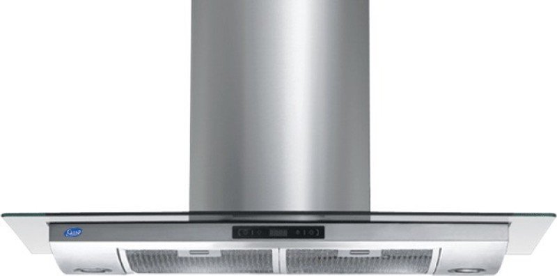 GLEN COOKER HOOD 6073 SS 90CM 1000M3 Wall Mounted Chimney(Sliver 1000 CMH)