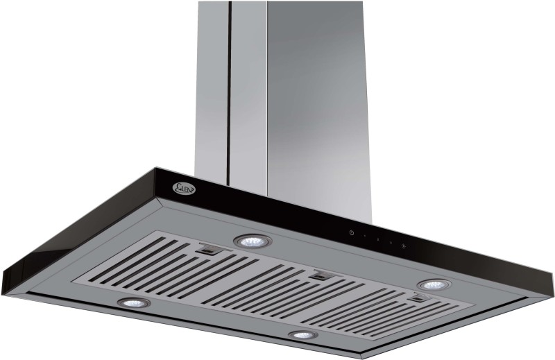 GLEN GL 6052 Touch 60cm 1000m3 BF Wall Mounted Chimney(Sliver...