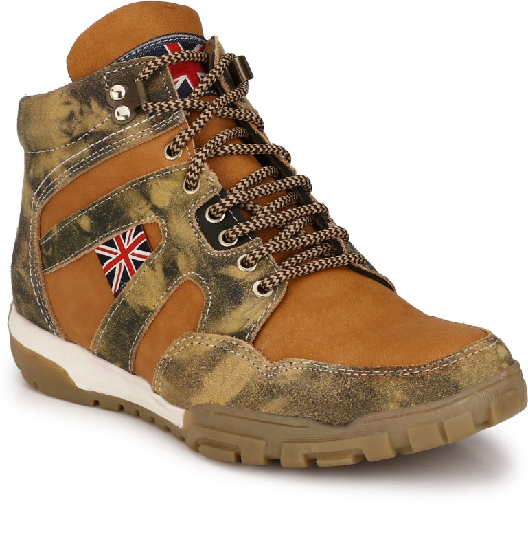 Eego Italy Stylish and Trendy Boots For Men(Multicolor)