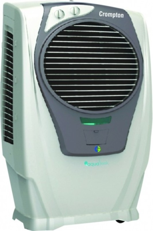 Crompton 55 L Desert Air Cooler(White, Grey, turbo sleek)