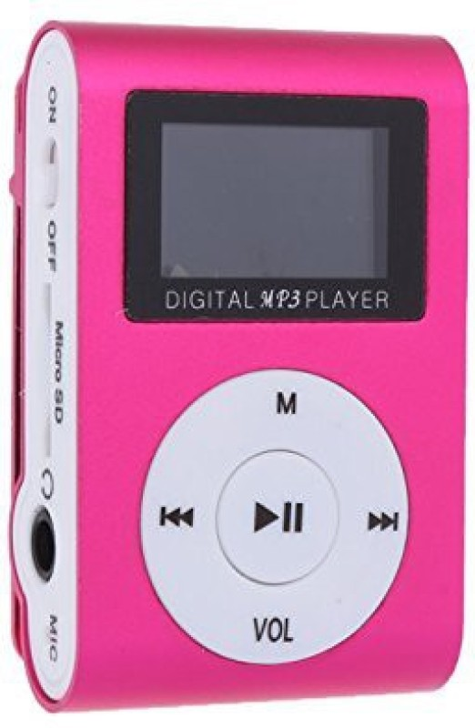 Mayday 56d4d4 1 GB MP3 Player(Pink, 1 Display)