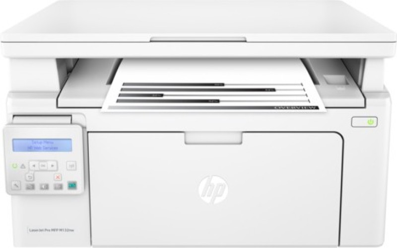 HP LaserJet Pro MFP M132nw Multi-function Wireless Printer(White, Toner Cartridge) image