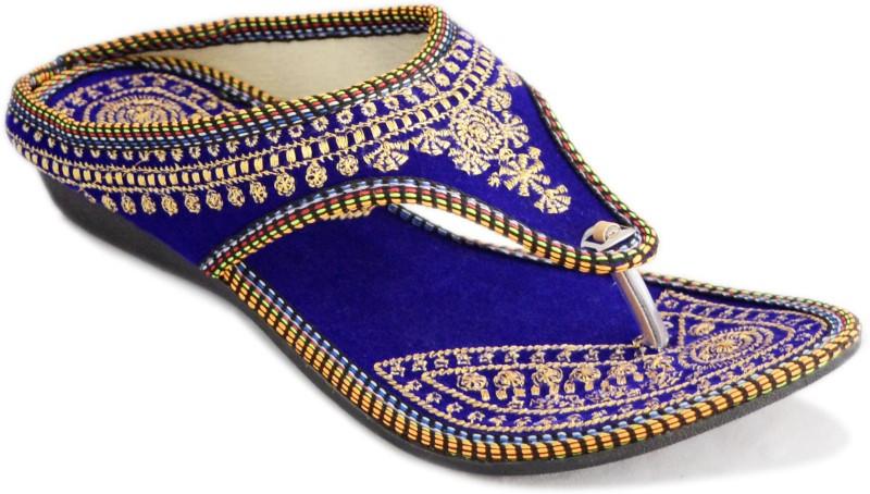 Myra Women Blue Flats