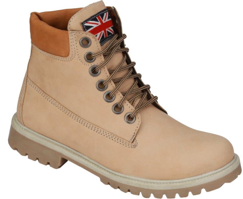 Eego Italy Stylish and Trendy Boots(Beige)