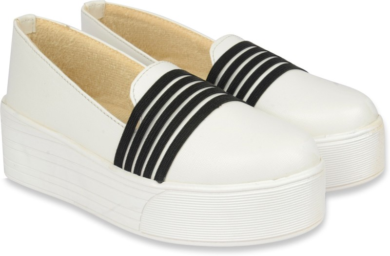Bare Soles Loafers(White)