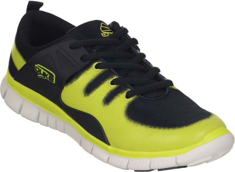 Duke Walking Shoes For Men(Yellow, Black)