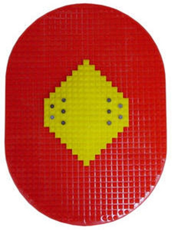 ACUPRESSURE Acupressure Bumper Mat I Stepper(Red, Yellow)