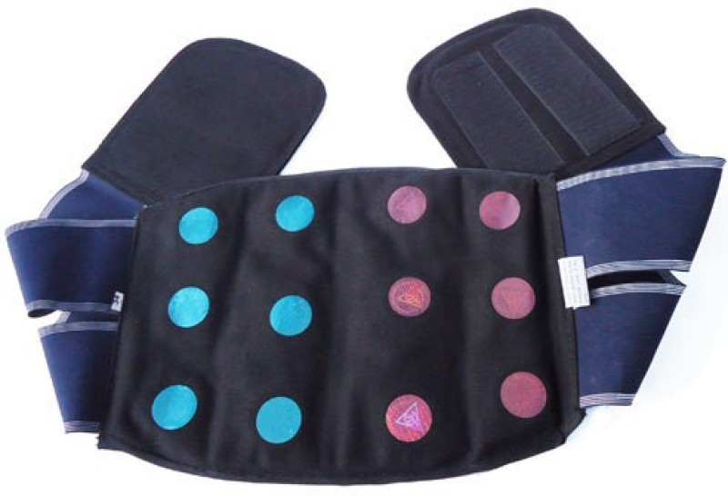 ACUPRESSURE Back & Belly Belt (32) Stepper(Multicolor)