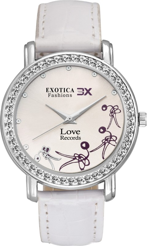 Exotica Fashion EX-LRRP-White Girl's Watch image
