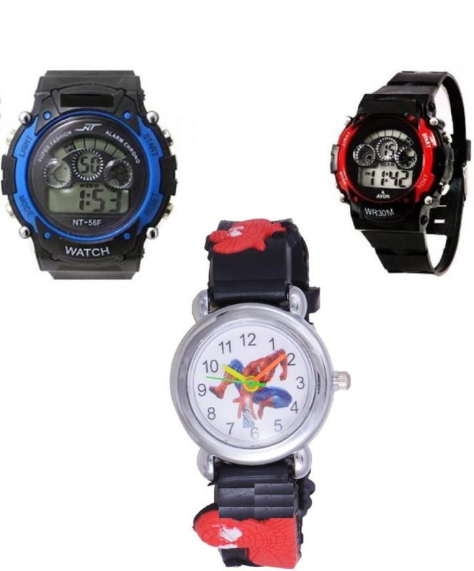 Users ANLG-Sports2+1 DSS-Kids Always Fun Analog-Digital Watch - For Boys & Girls