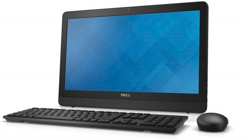 Dell - (Pentium Quad Core/4 GB DDR3/500 GB/Windows 10 Home)(Black, 19.5 Inch...