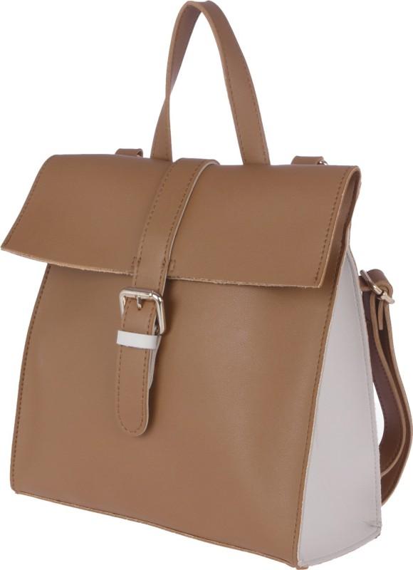 Fur Jaden Women's Casual 5 L Backpack(Tan)