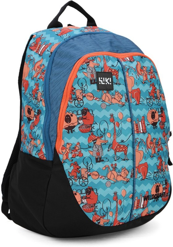 Wildcraft Wiki Zoo 4 30 L Backpack(Blue)