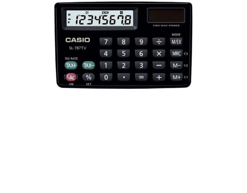 Casio Portable Basic Calculator(8 Digit)