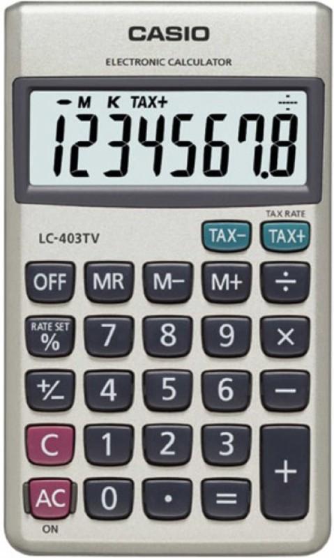 Casio Portable Basic Calculator(8 Digit)