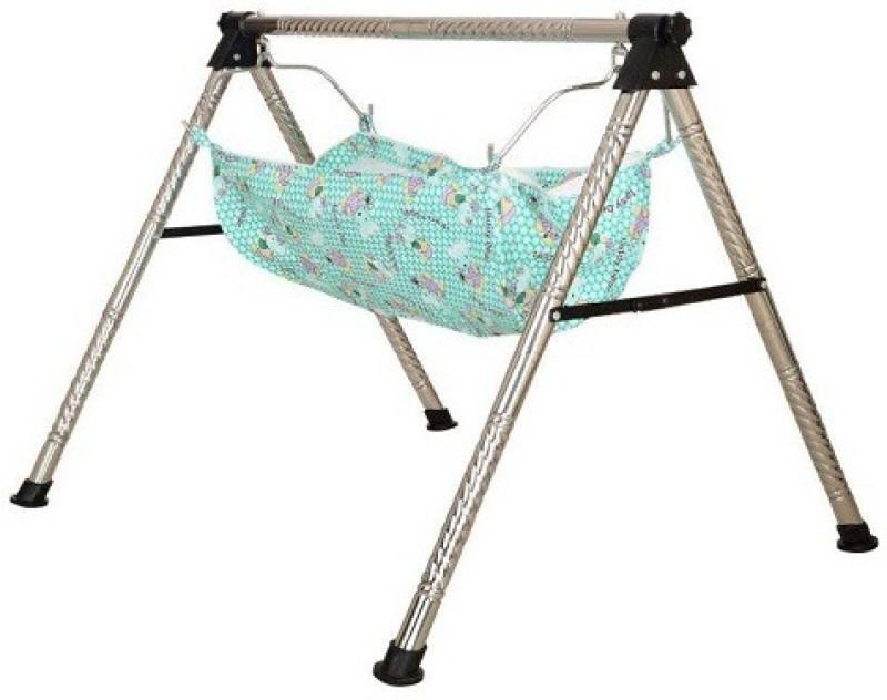 Future market Indian Style Ghodiyu Born Baby Sleep Swing Cradle(Silver)