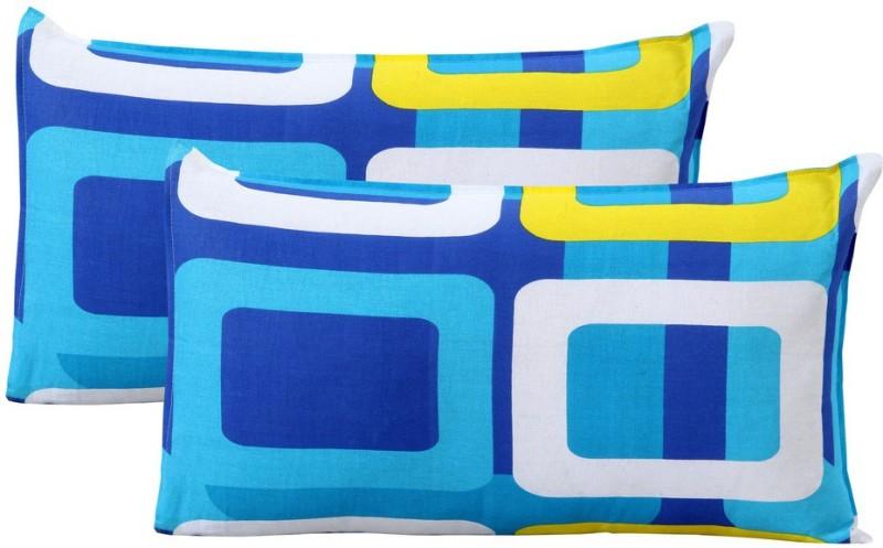 Home Elite Geometric Pillows Cover(Pack of 2, 46 cm*69 cm, Multicolor)