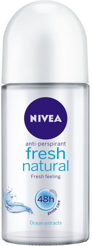 Nivea Fresh Natural Deodorant Roll-on - For Women(50 ml)