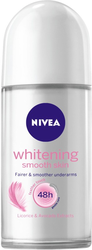 NIVEA Whitening Smooth Skin Deodorant Roll-on - For Women(50 ml)