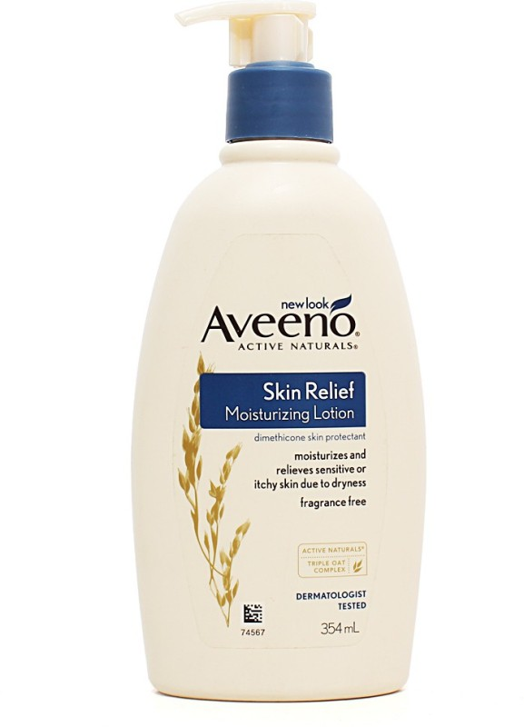 Aveeno Active Naturals Skin Relief Moisturizing Lotion, with Triple Oat Complex, 354ml(354 ml)