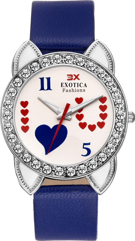 Exotica Fashion EFLM-11-Blue Girl's Watch image