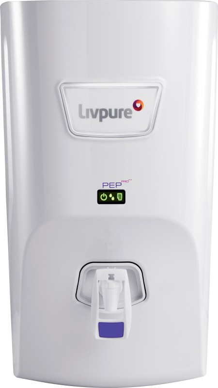 Livpure LIV-PEP-PRO-PLUS+ 7 L RO + UV +UF Water Purifier(White)