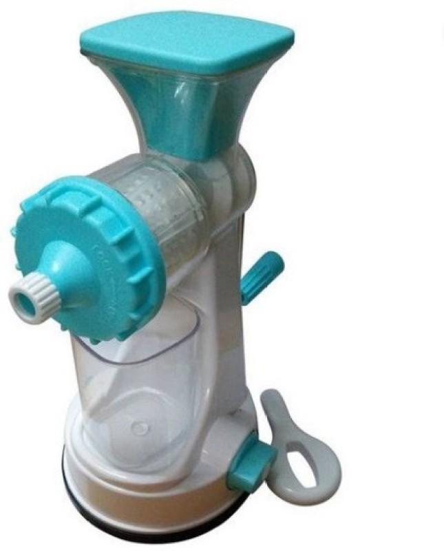 BKM&SONS Ganesh Juicer Blue Plastic Hand Juicer(White)