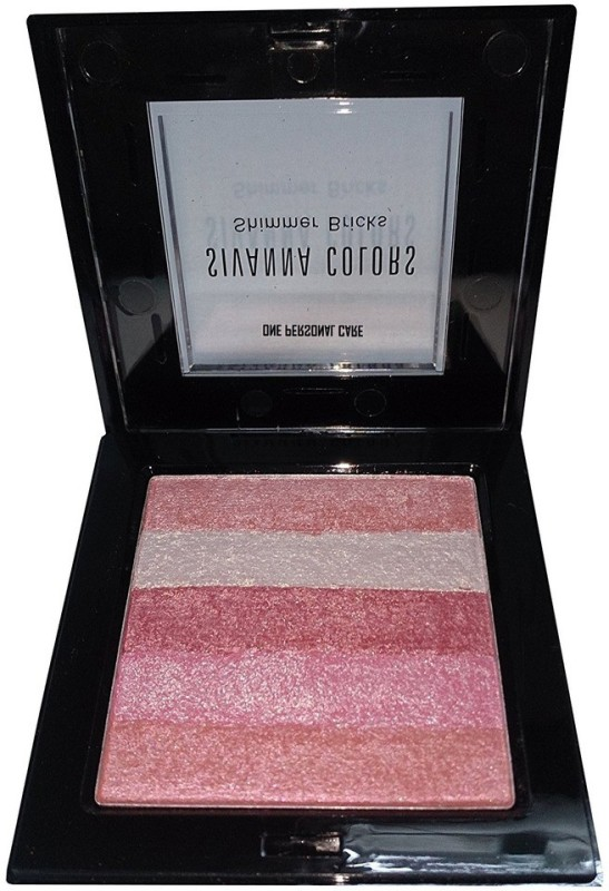 One Personal Care Sivanna Inspired Shining Star Shimmer Bricks | Body Glitter | Radiance Skin Glow | Sparkling Dust(Pink, Silver, Red, Violet)