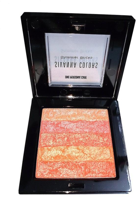 One Personal Care Sivanna Inspired Shining Star Shimmer Bricks | Body Glitter | Radiance Skin Glow | Sparkling Dust(Orange, Yellow)